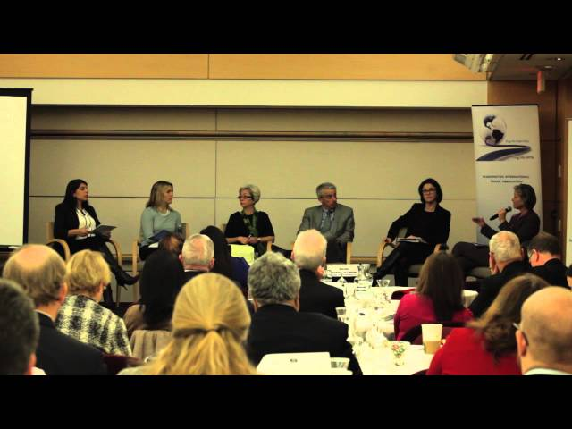 WITA TPP Series: Manufacturing Panel: Moderated Discussion I 1/28/16