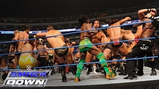 41-Man Battle Royal for a Championship Match of Winner's Choosing: SmackDown, October 14, 2011 thumbnail