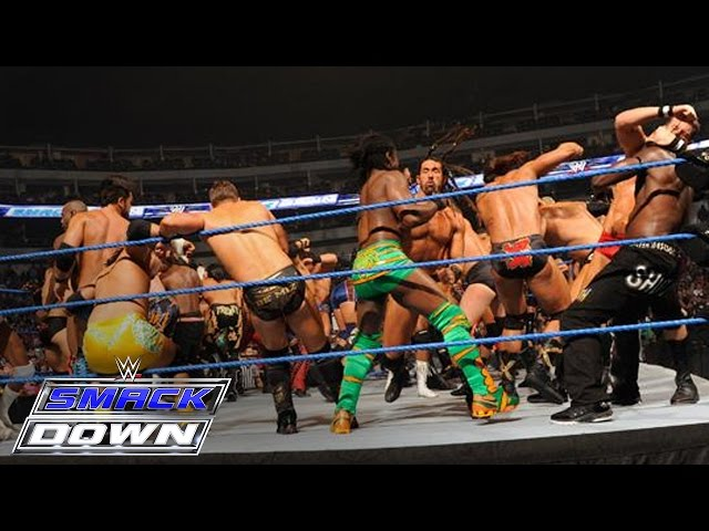 FULL-LENGTH MATCH - SmackDown - 41-Man Battle Royal Travel Video