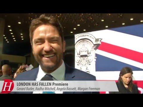 Gerard Butler and more at The LONDON HAS FALLEN Premiere