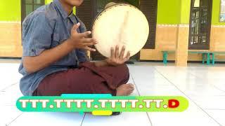 tutorial pukulan dasar al-banjari  (part2)
