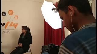 BeeFly Media YT Studio!   Behind the Scenes    Saheba Mirza   The Chocolate Queen   2019