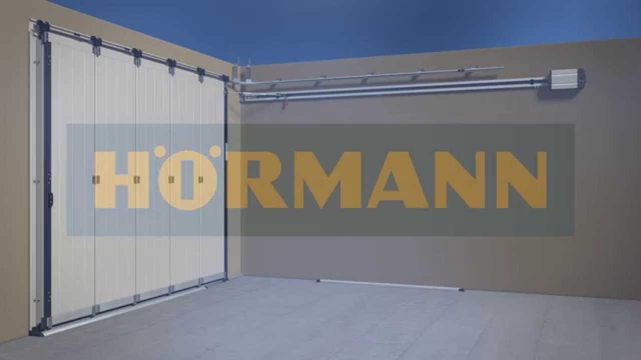 Montageanimation Seiten-Sectionaltor HST - YouTube