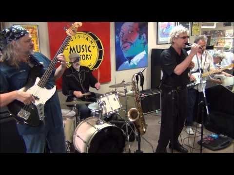 Smoky Greenwell Band @ Louisiana Music Factory JazzFest 2014