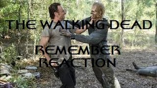 THE WALKING DEAD - 5X12 REMEMBER REACTION
