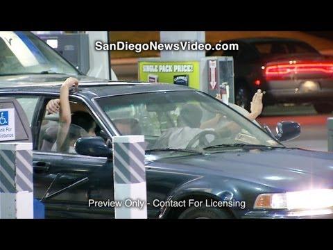 Good Old Fashion Police Work (Stolen Car, Dash Cam Follow Footage), Lemon Grove