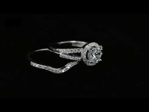 28d83dde0f95 Juego de Anillo y Churumbela de plata 925 y Zirconias- Amour - YouTube