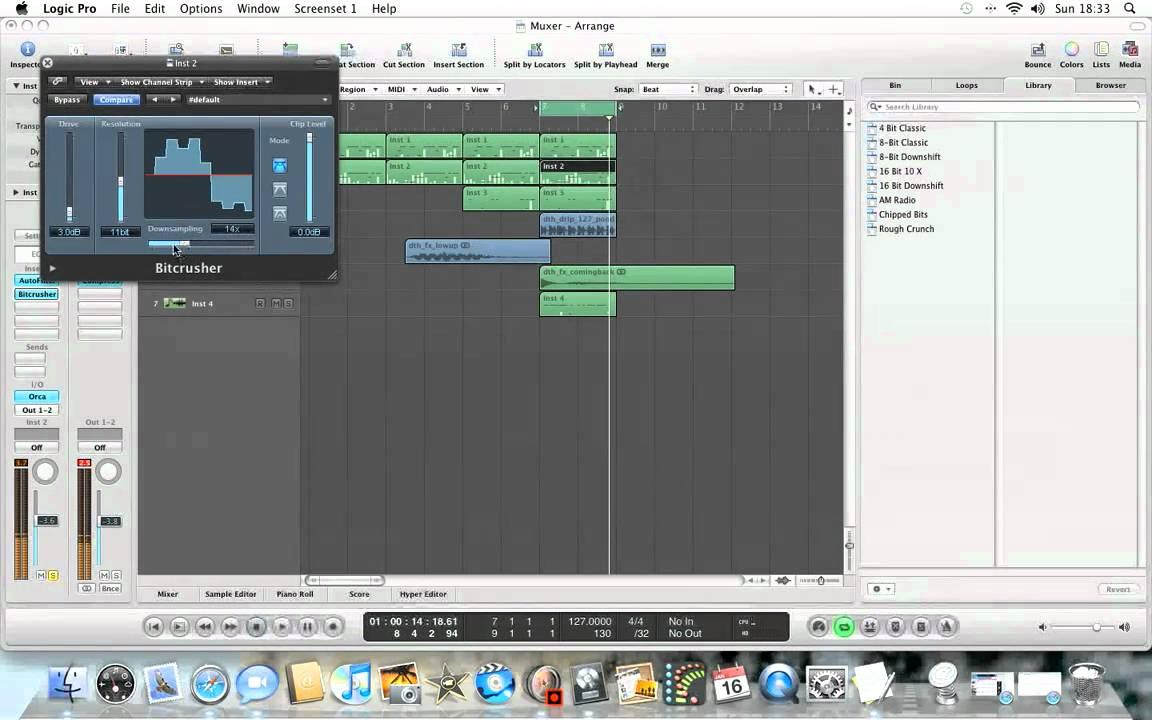 Free Bitcrusher Audio Unit