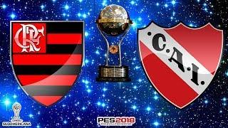 FINAL COPA CONMEBOL SUL-AMERICANA 2017 I FLAMENGO X INDEPENDIENTE I GAMEPLAY [ PES 2018]