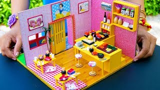 DIY Miniature Sushi Dollhouse