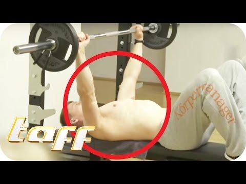Die größten Fails im Fitness-Studio | taff | ProSieben