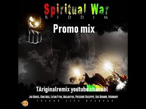 Spiritual War Riddim Mix (DEC➜2018,FULL) Feat  Gappy  Ranks,Malakiyah,Pressure Busspipe +More