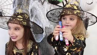 DESAFIO COLORINDO COM 3 CORES NO HALLOWEEN ★ 3 colors halloween challenge with Laurinha