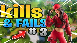 FORTNITE KILLS & Epic FAILS! #3 (Funny Moments Battle Royale Compilation)