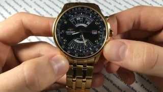 Часы с автоподзаводом Orient EU08001B - видео обзор механических часов от PresidentWatches.Ru