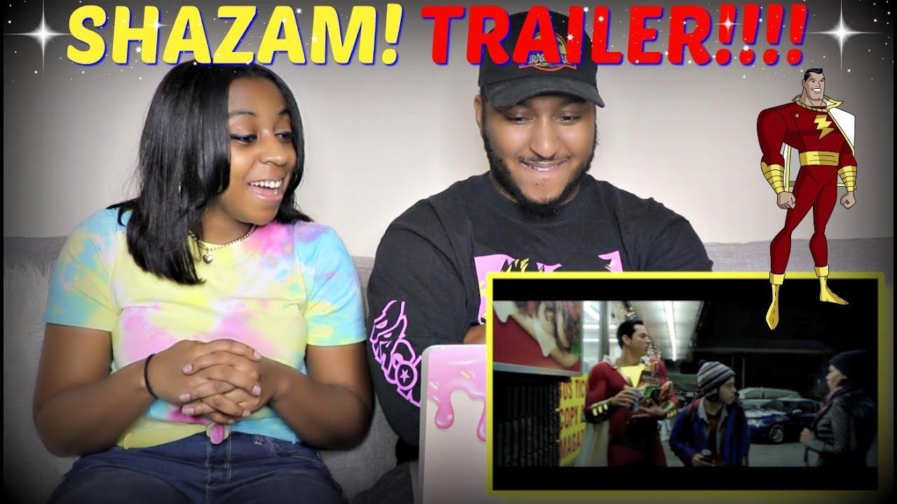 """SHAZAM!"" - Official Teaser Trailer REACTION!!!"