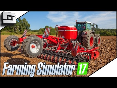 HORSCH PRONTO 9 DC! - Farming Simulator 2017 Gameplay #8 | Sl1pg8r