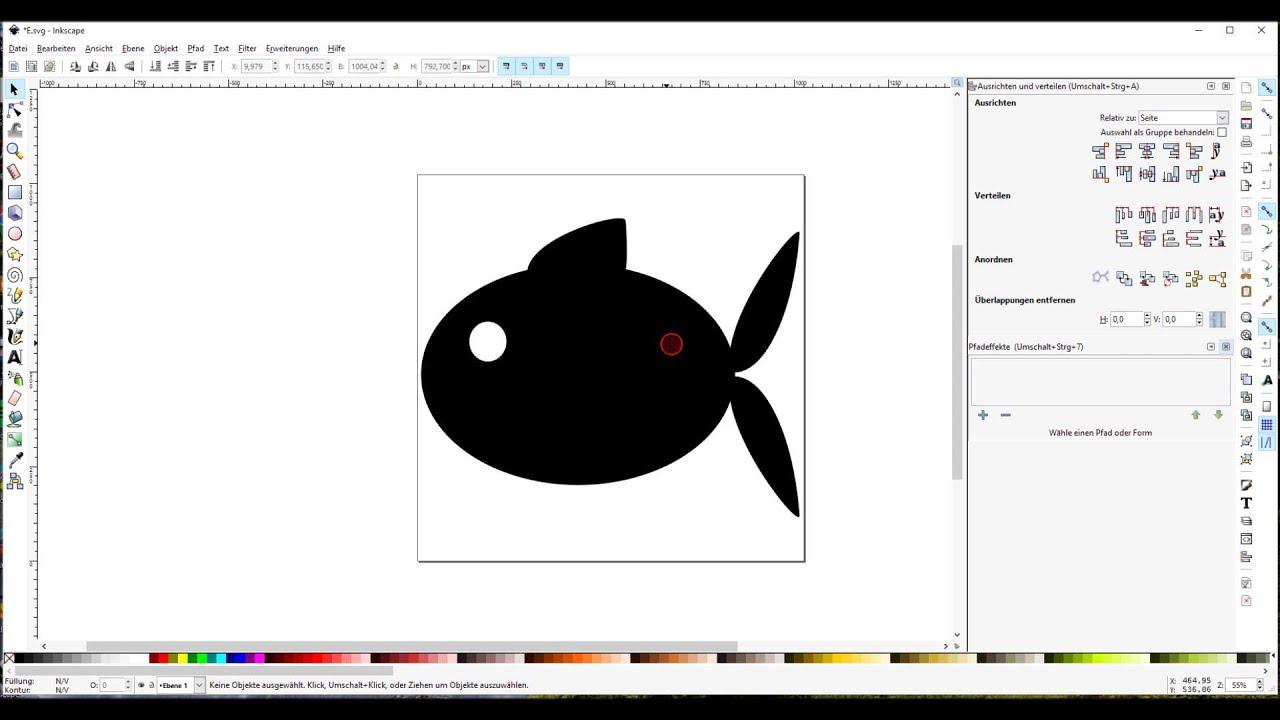 Mit Inkscape Kann Man Schnell Und Einfach Vorlagen Zum Plotten Erstellen Vor Allem Weil Der Brother Scanncut Auch Svg Dateien Lese Vorlagen Plotten Fledermaus