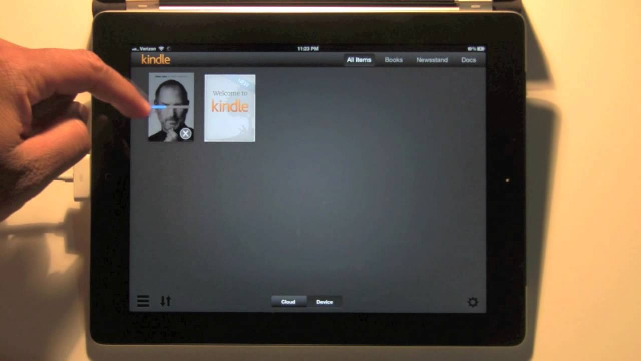 kindle app on ipad for beginners h2techvideos   youtube
