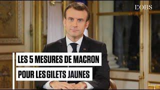 CSG, Smic, prime de fin d'année... : les 5 annonces de Macron pour les