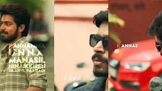 Kannamma Unna Manasil Song 💕 Full Screen WhatsApp Status In Tamil 💕 Radhi Fl