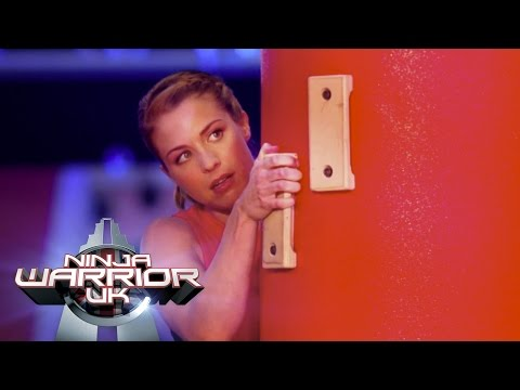 Gemma Atkinson takes on the Ninja Warrior UK Course for Text Santa