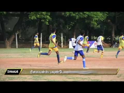 Reliance foundation's Football tournament in Loyola College