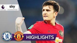 Maguire mit Tätlichkeit & Siegtreffer | Chelsea - Manchester United 0:2 | Highlights - PL