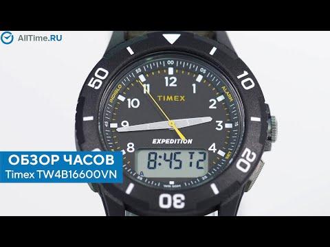 Обзор часов Timex TW4B16600VN с хронографом. Наручные часы. Alltime