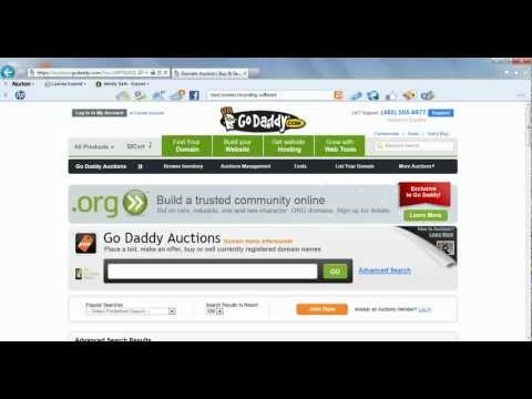 How To Buy An Expired Domain Name From GoDaddy Auctions