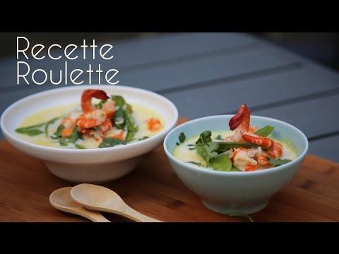 Soupe asiatique aux crevettes !