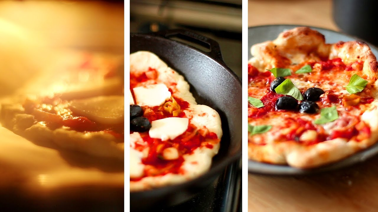 Pizza maison comme dans un four à bois (ou presque)