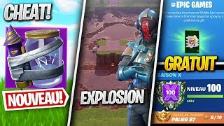 The Failed Visitor, Free Spray, New Update - Other on FORTNITE! (News Season X)