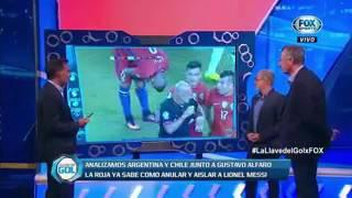 Analizamos el encuentro entre Argentina y Chile