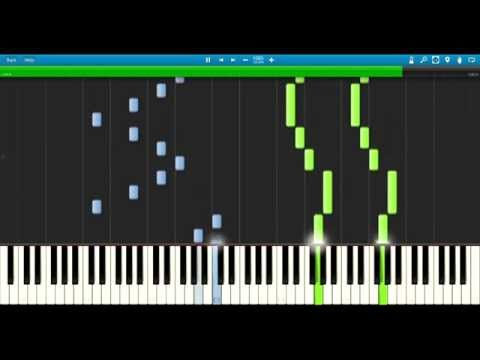 Synthesia: The Giver - Rosemary's Piano Theme (As played by Jeff Bridges)