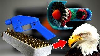 20 ВЕЩЕЙ НАПЕЧАТАННЫХ 3D ПРИНТЕРОМ. НЕОБЫЧНЫЕ вещи созданные 3D ПРИНТЕРОМ