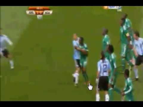 Argentina VS Nigeria Worldcup 2010 Goal