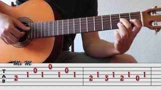 Como tocar La Mariposa nº13 - Mauro Giuliani. Arpegios y melodía | Curso básico de Acordes 32