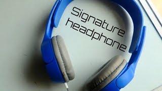 Signature headphone review
