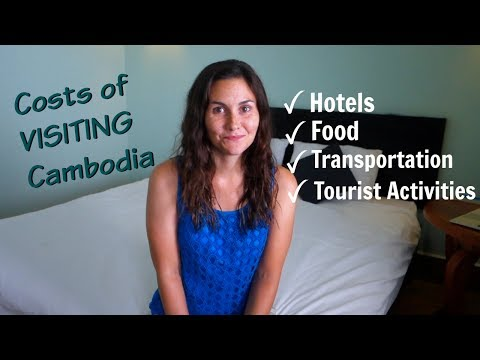 Cost of VISITING Cambodia - CHEAP prices of hotels, food, tourist activities