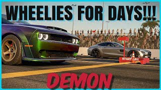 FORZA 7 DEMON WORLDS FASTEST PRODUCTION CAR!