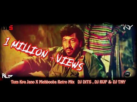 Tum Kya Jano X Mehbooba Retro Mix   DJ DITS , DJ RUP & DJ TNY  (VJ Sanjoy)
