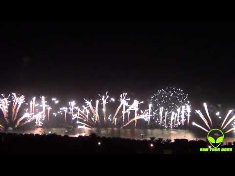 Kuwait Constitution Fireworks 2012 دستور الكويت ألعاب نارية HD
