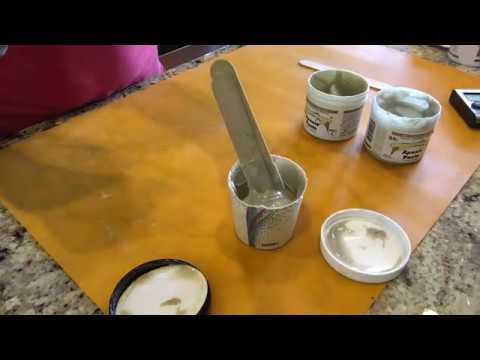 Mixing Apoxie Paste