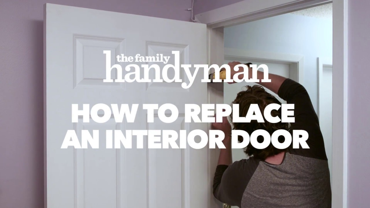 How To Replace an Interior Door & How To Replace an Interior Door - YouTube