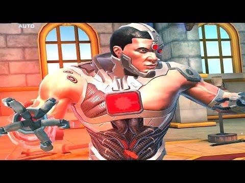DC Legends (iOS) - Walkthrough Part 9 - Themyscira: Temple Of Athena (Chapter 4 Part 2 - Normal)