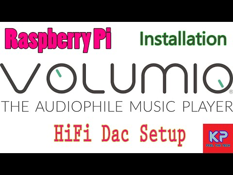 Volumio HiFi Dac System On Raspberry Pi (Installation)