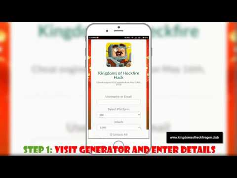 Kingdoms of Heckfire Hack – Cheats Learn How to Get Free Jewels Use in 2018 Both iOS & Android