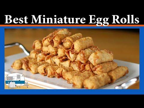 How to make Mini Egg Rolls