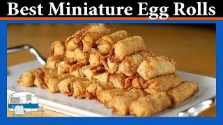 Mini Egg Rolls - White Trash Cooking
